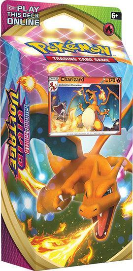 Pokemon Sword&Shield Vivid Voltage Charizard Thema Deck