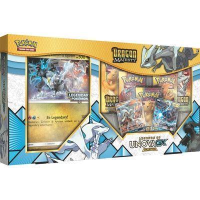 Pokemon Dragon Majesty Legends of Unova GX Collection box