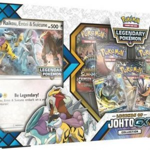 Pokémon Legends of Johto GX Box