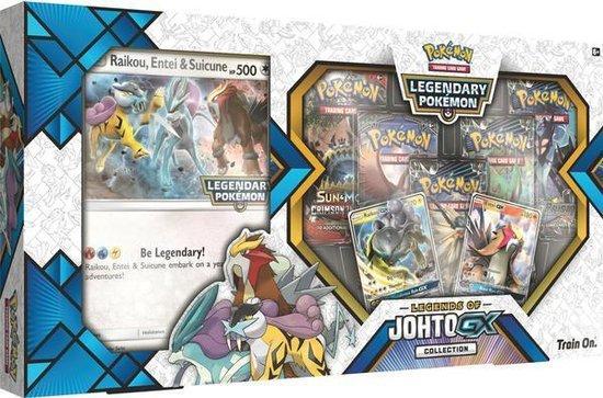 Pokémon Legends of Johto GX Box