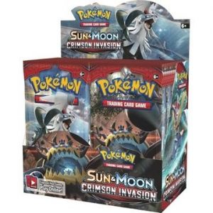 Pokemon Sun & Moon Crimson Invasion Booster Box