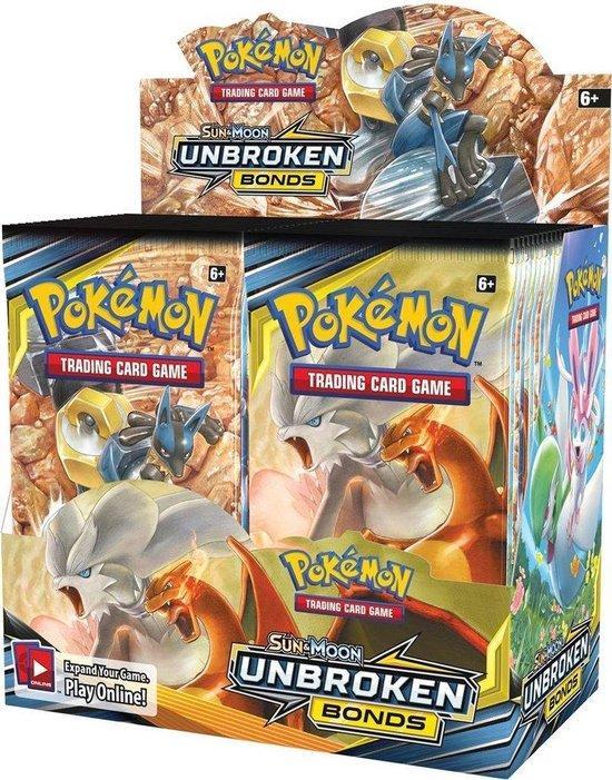 Pokémon Sun & Moon - Unbroken Bonds Boosterbox
