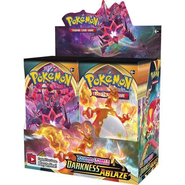 Pokémon Sword & Shield Darkness Ablaze Booster Box
