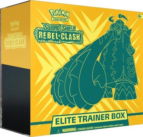 Pokémon Sword & Shield Rebel Clash Elite Trainer Box