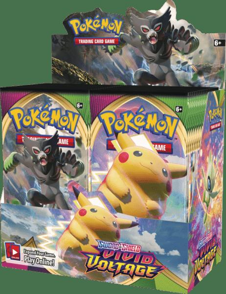 Pokémon Sword & Shield Vivid Voltage Booster Box