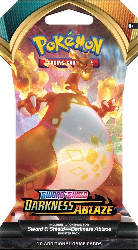 Pokemon Sword&Shield Darkness Ablaze Sleeved Booster Pack