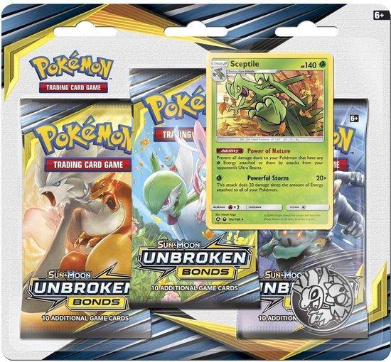 Pokemon Unbroken Bonds 3 pack blister