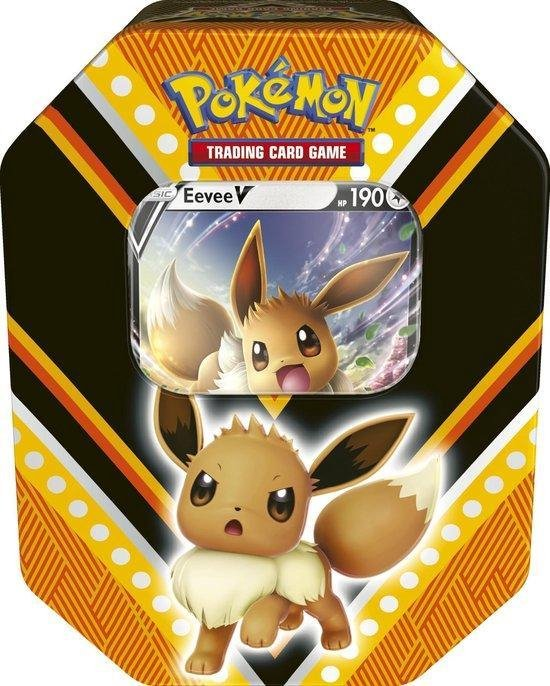 Pokémon V Powers Tin Eevee