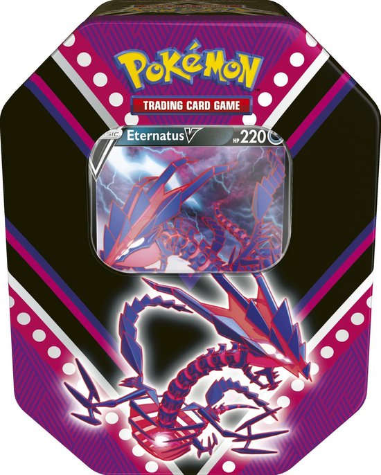 Pokémon V Powers Tin Eternatus