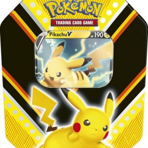 Pokémon V Powers Tin Pikachu