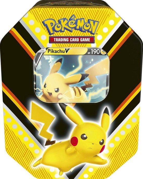 Pokémon V Powers Tin Pikachu