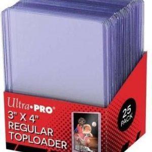 Ultra Pro 3x4 Regular Toploader