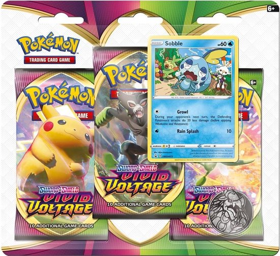 Vivid Voltage 3-pack Blister