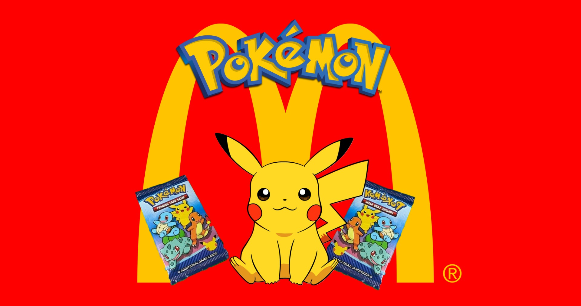 Pokemon McDonalds booster packs
