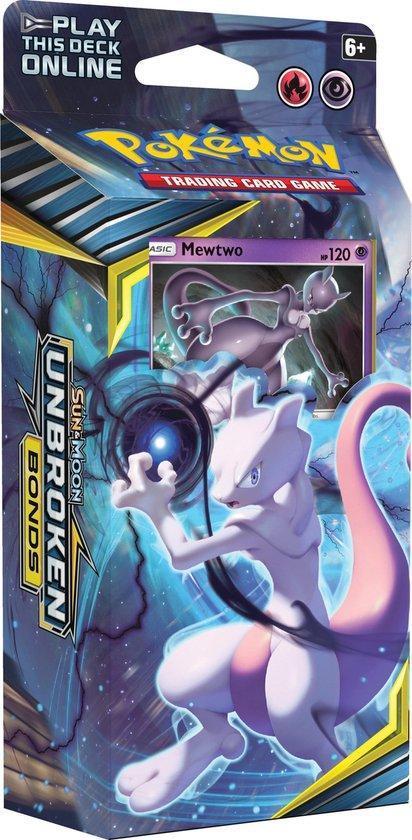 Pokémon Sun & Moon Unbroken Bonds Thema Deck Mewtwo