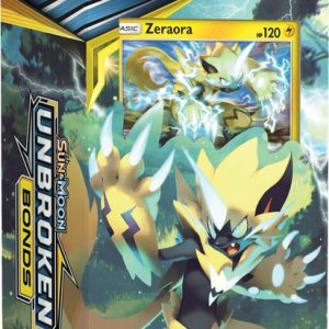 Pokémon Sun & Moon Unbroken Bonds Thema Deck Zeraora