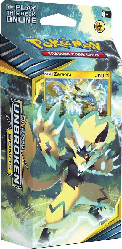 Pokémon Sun & Moon Unbroken Bonds Thema Deck Zeraora