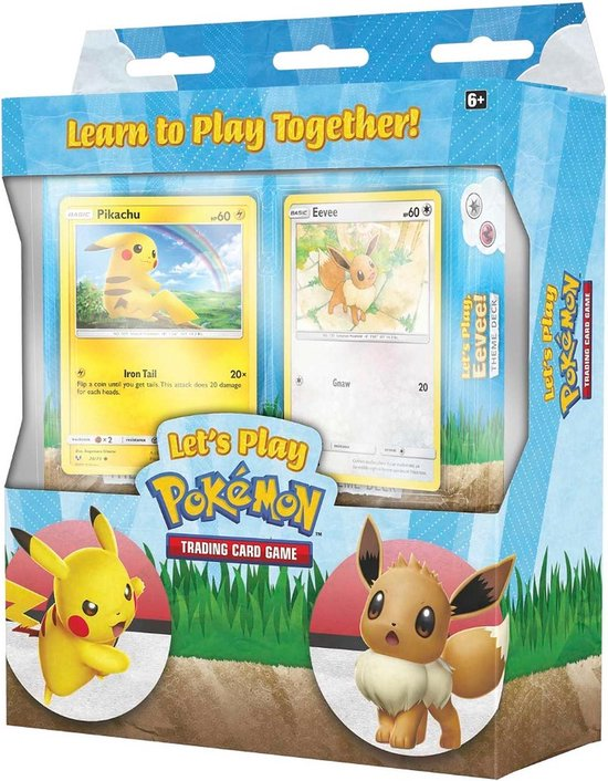 Let's Play Theme Decks - Pikachu and Eevee