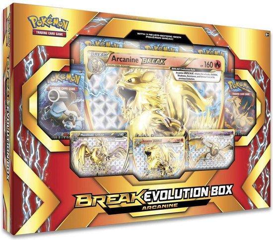 Pokémon Break Evolution Box Arcanine