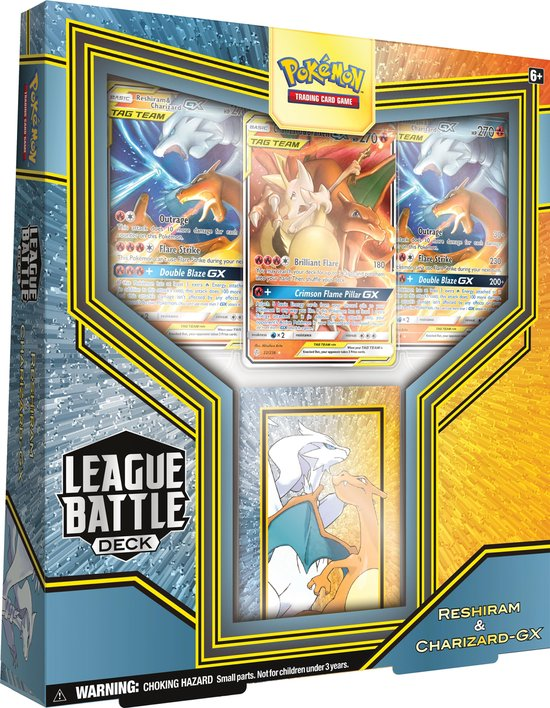 Pokémon League Battle Decks Reshiram & Charizard-GX