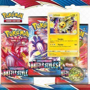 Pokémon Sword & Shield Battle Styles 3BoosterBlister - Jolteon