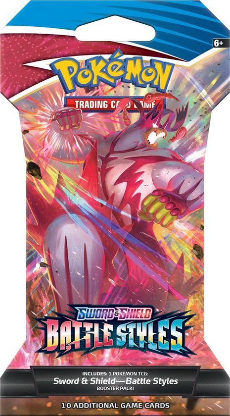 Pokémon Sword & Shield Battle Styles Sleeved Booster