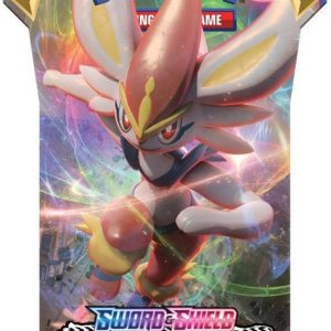 Pokémon Sword & Shield Rebel Clash Sleeved Booster