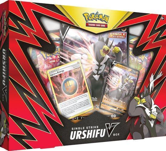 Urshifu V Single Strike Battle Styles V Box