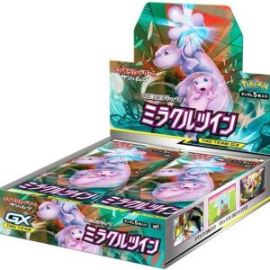 Japanse Pokémon Sun & Moon Expansion Miracle Twin Booster Box