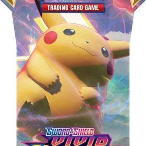 Pokémon Sword & Shield Vivid Voltage Sleeved Booster