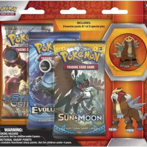 Pokémon Entei Collector's Pin 3-pack blister