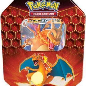 Pokémon Hidden Fates Charizard Tin