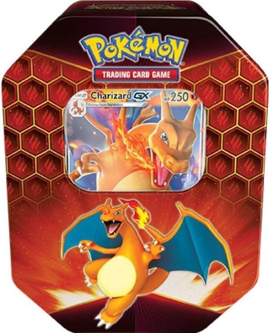 Pokémon Hidden Fates Charizard Tin