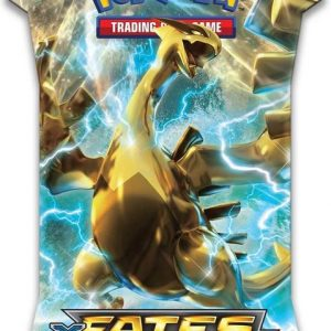 Pokemon Sleeved XY10 Fates Collide booster
