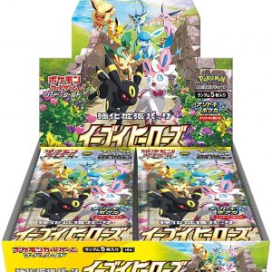 Japanse Eevee Heroes Booster Box S6a