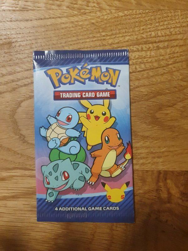 Mcdonald's 25th anniversary pokemon booster pack