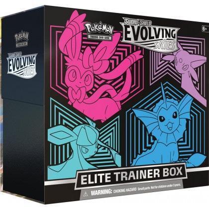 Pokemon: Evolving Skies - Elite Trainer Box - Sylveon, Vaporeon, Glaceon, Espeon