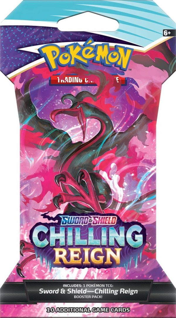 Pokémon Sword & Shield Chilling Reign Sleeved Booster
