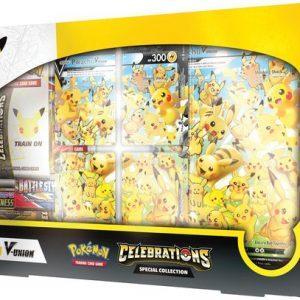 Celebrations Pikachu V Union Special Collection