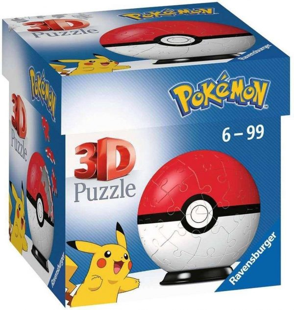 3D Pokémon Puzzel Ravensbuger 54 stukjes