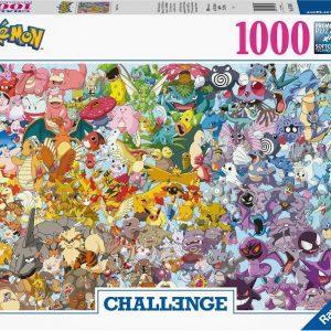 Pokémon Challenge legpuzzel 1000 stukjes Ravensburger